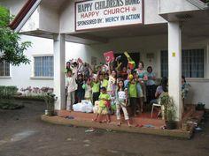 Happy Church Orphanage in Ozamiz City, Philippines.