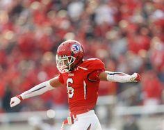 Wide receiver Dres Anderson celebrates a touchdown. (Trent Nelson     The Salt Lake Tribune)