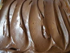 This frosting is absolutely exploding with chocolate. Its smooth, creamy, and causes everyone who tastes it to do a double take because by looking at it, you are expecting it to be store bought canned icing but OH NO, none of that plastic, preservative filled flavor here. This is the real deal!