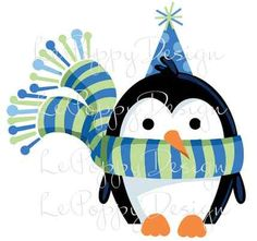 penguin party design