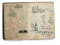 Copenhagen.  #oliverjeffers #cartography