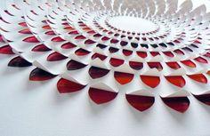 Hand Cut Paper Art - Lisa Rodden  Flower