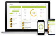 Food and Exercise data dashboard by Lifesum