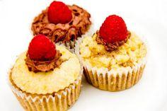 Jasmine Cupcakes with Raspberry and Honey