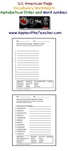 flag day worksheets kindergarten