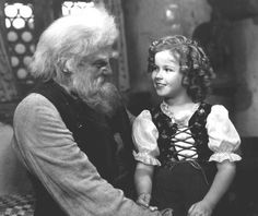 "Shirley Temple -- ""Heidi"".  My FAVORITE Shirley Temple movie."