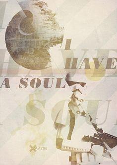 I Have a Soul poster by {Bruno Martins}, via Flickr