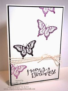 Narelle Fasulo - Independent Stampin' Up! Demonstrator - Quick and Simple