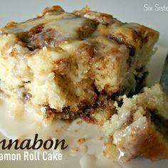 Cinnabon Cinnamon Roll Cake Recipe - ZipList