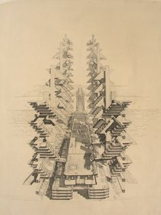 Paul Rudolph's Lower Manhattan Expressway (167-72) #experimentsinmotion