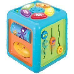 Brilliant Beginnings Activity Cube