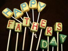 Dad Cake Pops