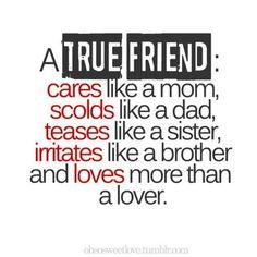 True friend is....