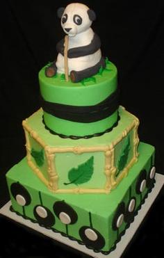 Amazing Panda cake  cakesbydarcy.com