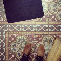 tile floor, somewhere in Portugal __