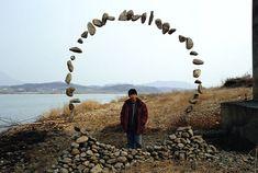 Decoration,  Design Ideas: Fascinating Jaehyo Lee, Suspended Rock Installations Regarding Suspended Stone Installations 13: Amazing Stone In...