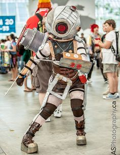 Big Sister from Bioshock 2   SDCC 2013