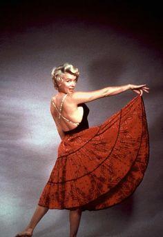 Marilyn Monroe photographed by Milton Greene
