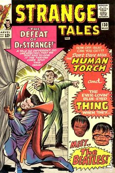 STRANGE TALES 130, DR. STRANGE STARTS IN THIS BOOK, WHO LATER TAKES OVER THE TITLE. SILVER AGE MARVEL COMICS