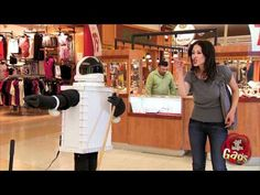 Sexy Ass Grabbing Robot Prank.    Domo arigato Mr Ass Grabbing Roboto! A cleaning robot coming straight from the 60s future takes a break from mopping the floor to slap dat sweet ass.    Make sure you subscribe to our #prank channel on @YouTube! www.youtube.com/gags