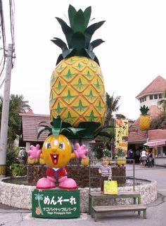 Nago Pineapple Park - Okinawa such fun.