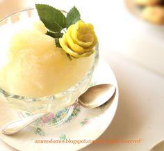 Granita al Limone (senza gelatiera)