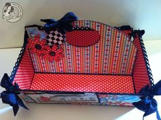 Love the inside of Clare's Mother goose caddy! #graphic45 #organization