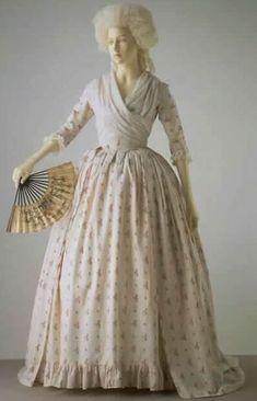 vintage gowns, edwardian dress, costum, summer dresses, 18th centuri, 18thcenturi, 1700s fashion, day dresses, 1700s dress