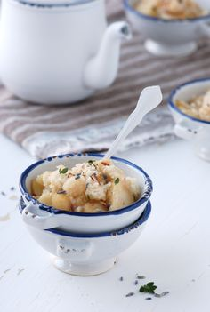 ... apple coconut crumble with thyme and lavender ...