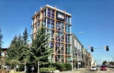 REI in Seattle, WA - Their flagship store. RSVP to climb the Pinnacle
