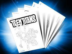 Themed Printables: Teen Titans | DC Comics