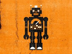 Robot - by Mikey Bur