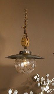 Nautical Decor Cadernal Pendant Light