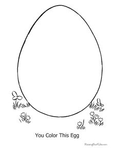 Easter coloring printables.  Great alternative if no one likes to eat boiled eggs. :)  I'm doing this with my kids.