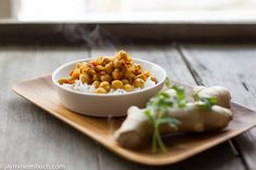 Chickpeas simmered in masala sauce : TreeHugger