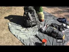 For the hikers out there! How to Pack a Backpack Video...thanks REI