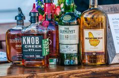 Stock the bar for your next event or meeting in Charleston, SC with Southern favorites. {Photo By Coleman Photography LLC} Meet in the Wild: http://wilddunesmeetings.com/?utm_source=social&utm_medium=pinterest&utm_campaign=meetinthewild