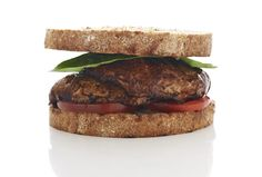 "Balsamic Portobello ""Burger"" 