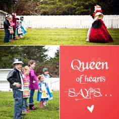 party game...queen of hearts says