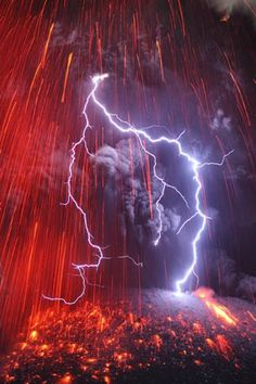 NationalGeoPix: Mount Sakurajima Volcano, Japan.