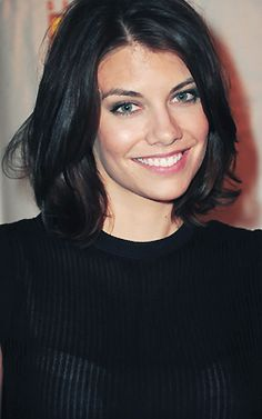 Lauren Cohan aka Maggie from TWD black hair, walking dead, walk dead, lauren cohan hair, new hairstyles