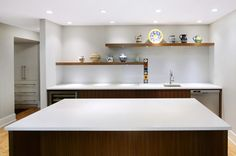 Basement bar by Johnson & Associates Interior Design