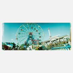 Coney 12 Print 20x8 now featured on Fab.