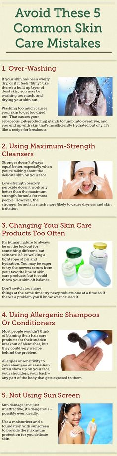 Common Skin Care Mistakes.  #SkinCare, #ClearSkin, #Acne http://www.howtogetridofacnescar.com/5-common-skin-care-mistakes/