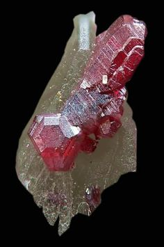 Cinnabar crystals with Quartz - Spain