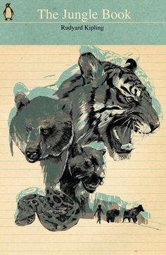 Jungle Book cover by Rico