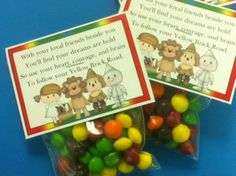 Wizard of Oz Candy Topper Printable for Kindergarten Graduation?
