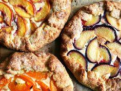 Stone Fruit Galettes with Homemade Frangipane: One Dough, Three Tarts
