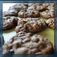 Passover Recipes: Almond Butter Choc Chip Cookies