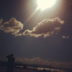 Sun and the beach   #ByronBay, #Australia